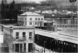 Photo of the Courthouse and Bellingham Bay