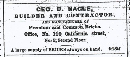 Information About the Actual Brick Manufacturer Ceo D. Nagle